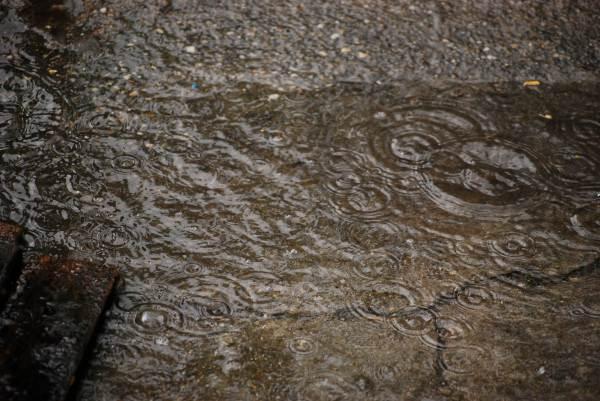 Picaturi de ploaie - cerculete